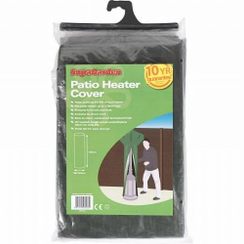 Garden Patio Heater Cover Zips to Fit - 10 Year Guarantee